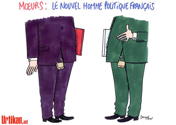 Dessin du Jour : la France dans l'après-DSK, Sexe, morale et politique
