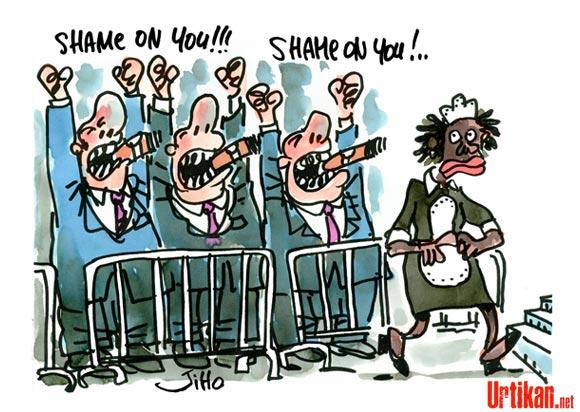 Affaire DSK : Nafissatou Diallo perd toute crédibilité. Shame on you !