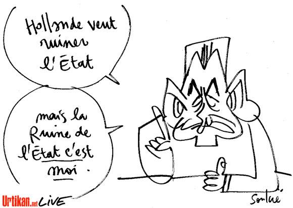 Sarkozy crée une banque pour les patrons (ça manquait)