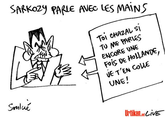 Nicolas Sarkozy s'échauffe
