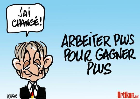 Sarkozy inspiré par l'Allemagne