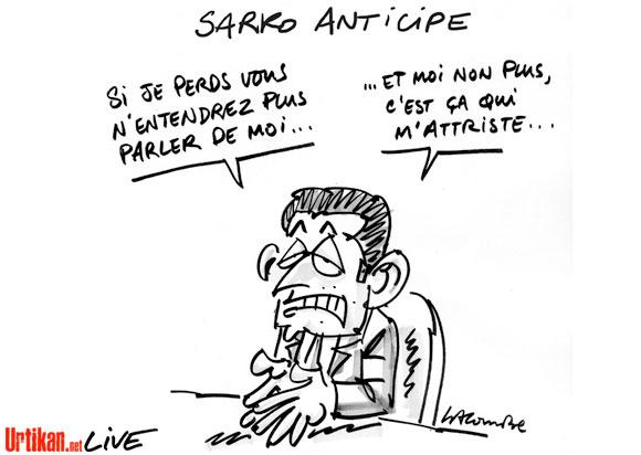Sarkozy : demain bien moins qu'aujourd'hui