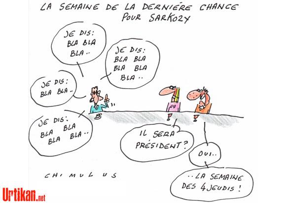 Sarkozy sur toutes les télés cette semaine