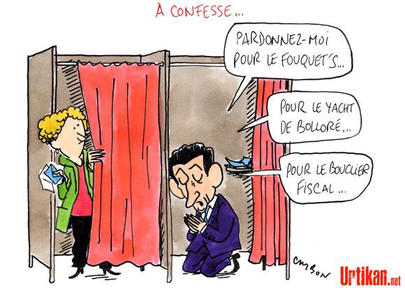 Sarkozy regrette des erreurs et tente de lisser son image