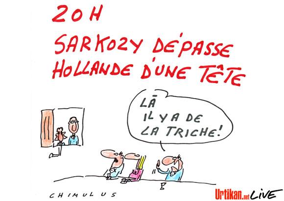 Hollande sur les talonnettes de Sarko