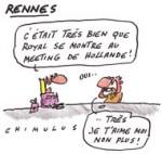 A Rennes, Royal «passe le flambeau» à Hollande
