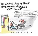 Le grand résistant Raymond Aubrac est décédé