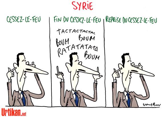 Syrie : les violences continuent malgré l'arrivée d'observateurs