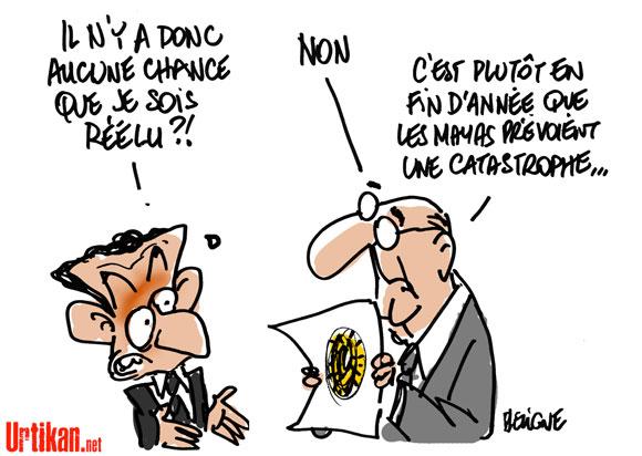 Nicolas Sarkozy, le défi de la réélection