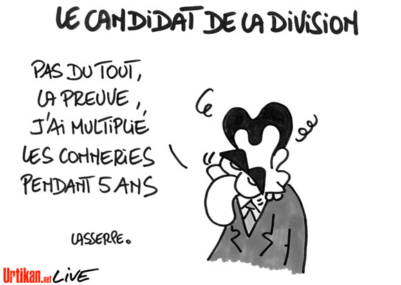 Sarkozy assume son quinquennat
