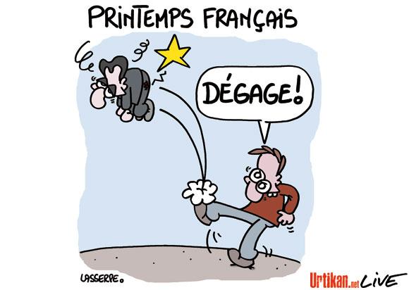 En avril on vote Hollande