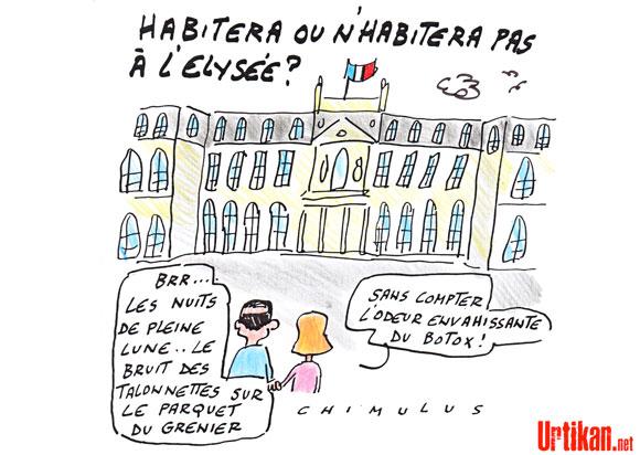 Hollande ne veut pas dormir à l'Élysée