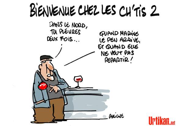 Mélenchon-Le Pen : choc frontal à Hénin-Beaumont