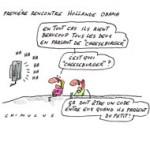 Obama et Hollande jouent la carte de l'humour pour leur premier contact diplomatique