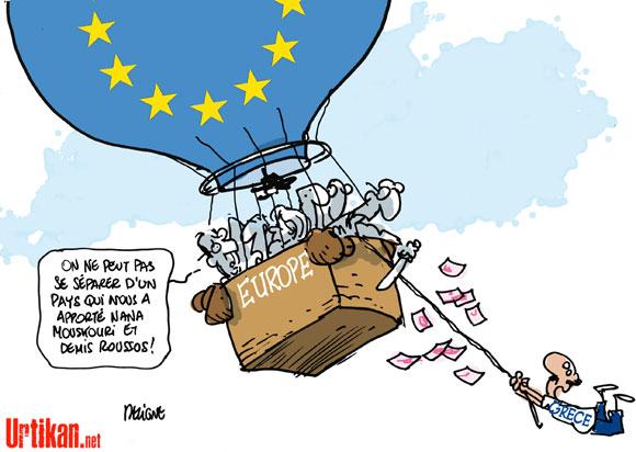 Hollande ne veut pas que la Grèce quitte l'Euro