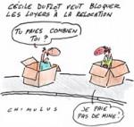 Cécile Duflot annonce un décret pour bloquer les loyers à la relocation