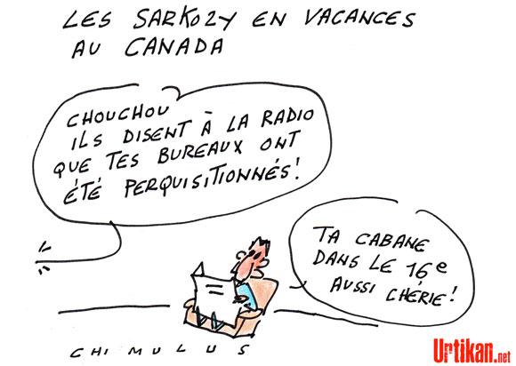 Affaire Bettencourt: perquisitions au bureau et au domicile de Nicolas Sarkozy