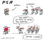 """PSA : pour les syndicats, """"la guerre est déclarée"""""""