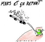 Curiosity va-t-il faire une rencontre sur Mars ?