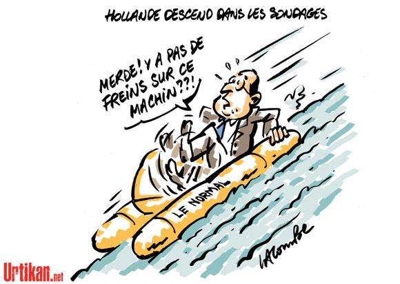 59% des Français mécontents des débuts du quinquennat de Hollande