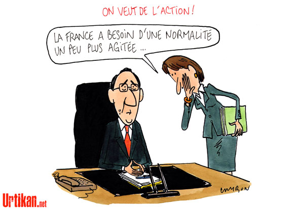 François Hollande mise sur un redressement à moyen terme