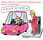 François Hollande et les manoeuvres réduites
