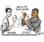 """Montebourg entame un """"bras de fer"""" avec Mittal pour l'avenir de Florange"""