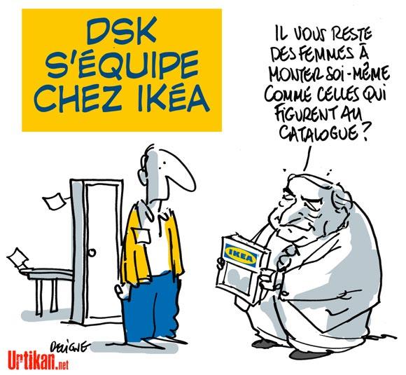 DSK: l'enquête pour viol dans l'affaire du Carlton de Lille classée sans suite