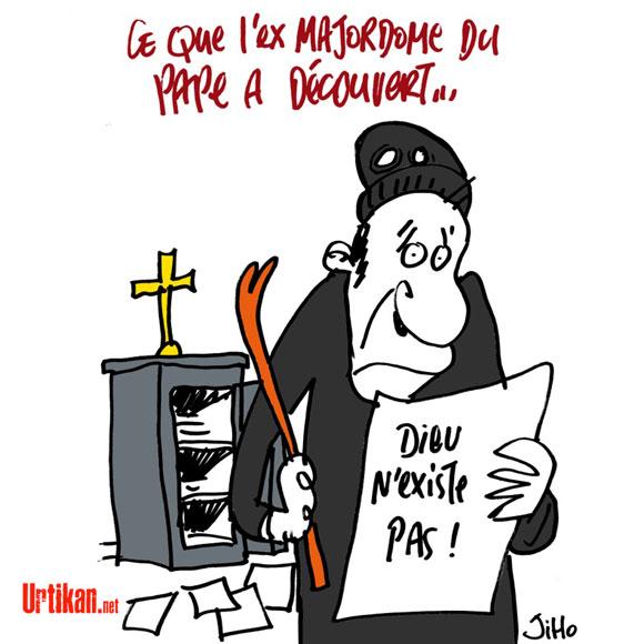 Le majordome du pape condamné à 18 mois de prison