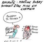 Amiante : Martine Aubry convoquée