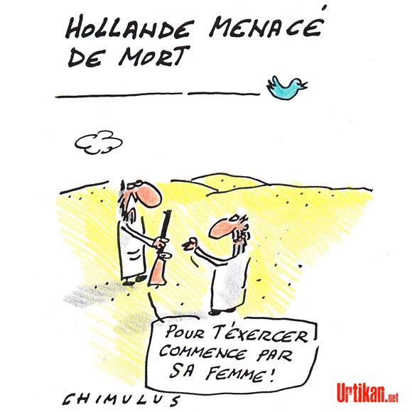 Mali : un islamiste menace François Hollande en personne