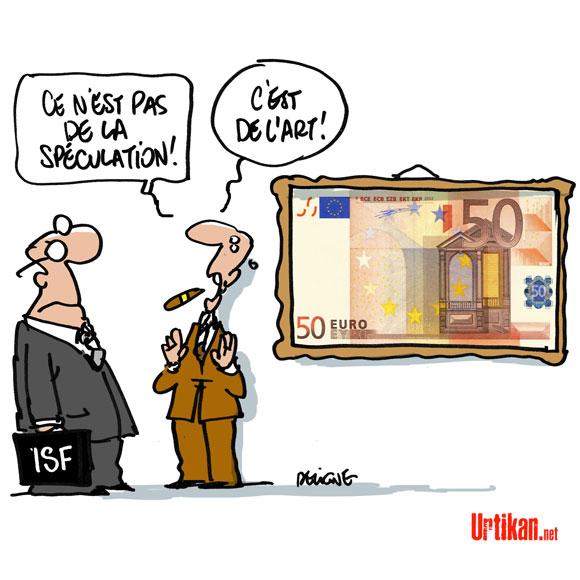 Les œuvres d'art hors ISF