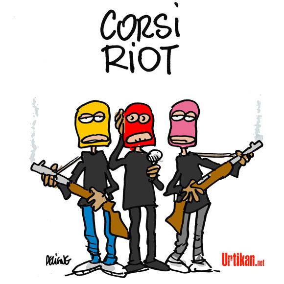 L'état entend reprendre la Corse en main