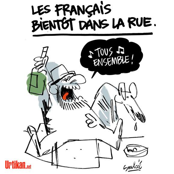 Les Français bientôt dans la rue?