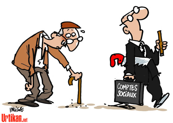 La taxe sur les retraites applicable dès avril 2013