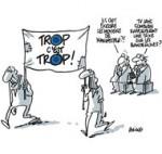 Manifestations clairsemées contre l'austérité en France