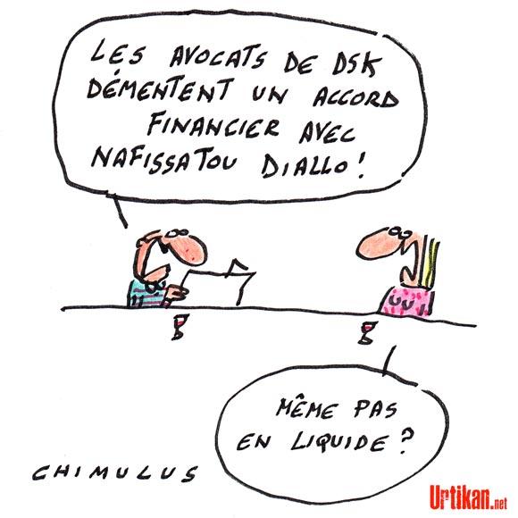 DSK-Diallo: des discussions mais pas d'accord, selon les avocats de DSK
