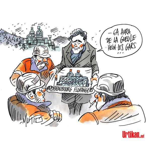 L'inauguration du Louvre Lens, une idée pour Montebourg ?