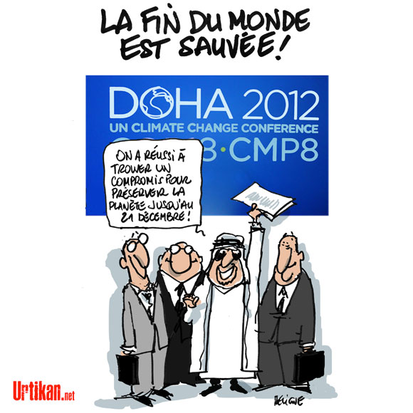 Conférence de Doha : des prolongations pour arracher un accord