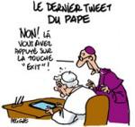 Le pape 2.0 démissionne
