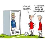PSG : Paris à Sochaux sans David Beckham