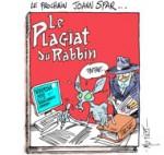 Le Grand rabbin reconnaît un plagiat mais ne s'en ira pas - Dessin de Mutio