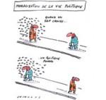 55 % des Français estiment que la plupart des politiques sont corrompus - Dessin de Chimulus