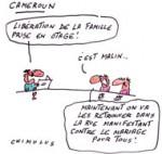 Otages au Cameroun: L'Elysée confirme la libération de la famille française - Dessin de Chimulus