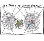 Claude Guéant, son demi-million et ses tableaux flamands - Dessin de Chimulus