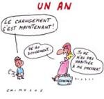L'an 1 de Hollande - Dessin de Chimulus