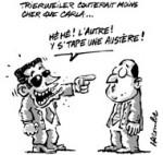 Combien coûte la première dame de France? - Dessin de Lacombe