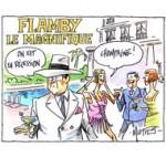 Cannes, festival du luxe pendant la crise - Dessin de Mutio