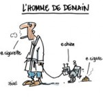 Guerre contre le tabac : la chasse à la cigarette électronique est déclarée - Dessin de Deligne