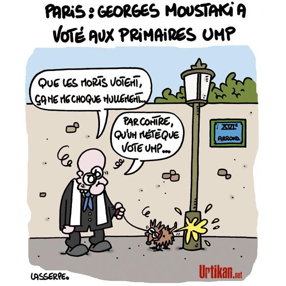 Les morts votent toujours à Paris - Dessin de Lasserpe